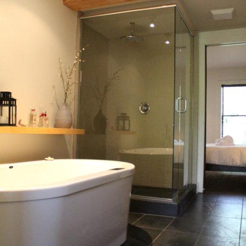 Condo - Chalets à louer - Côté Nord Tremblant - Salle de bain des maîtres