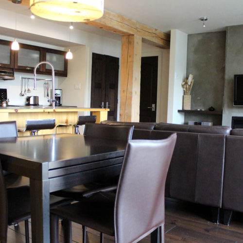 Condo - Chalets rentals - Côté Nord Tremblant - Dining room