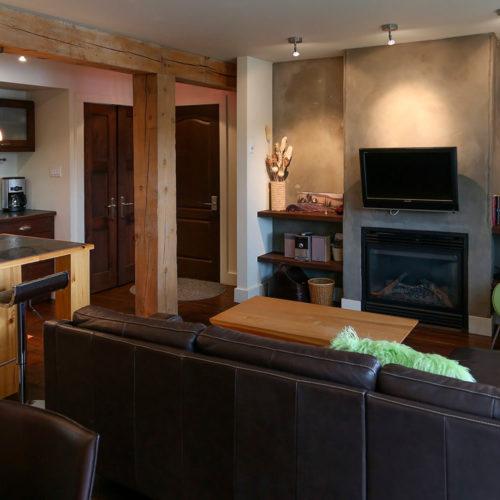 Condo - Chalets rentals - Côté Nord Tremblant - Living room