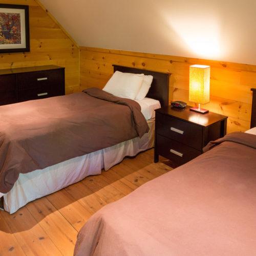 Contemporary - Chalets rentals - Côté Nord Tremblant - Bedroom 03