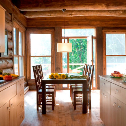 Contemporary - Chalets rentals - Côté Nord Tremblant - Dining room 01