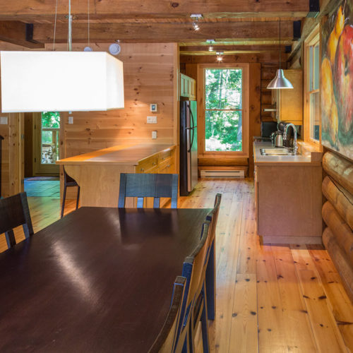 Contemporary - Chalets rentals - Côté Nord Tremblant - Dining room 02