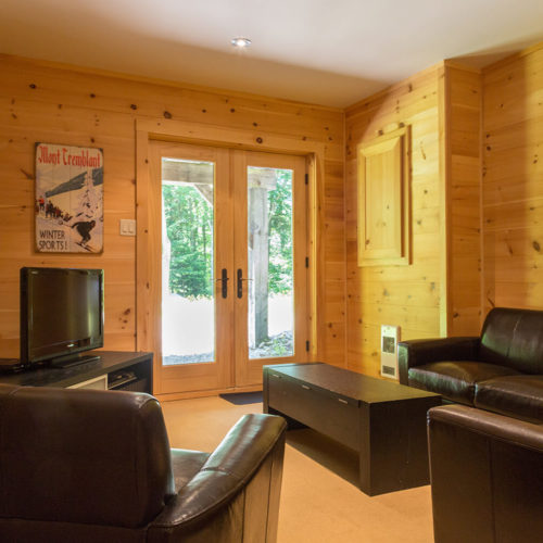 Contemporary - Chalets rentals - Côté Nord Tremblant - Living room 06