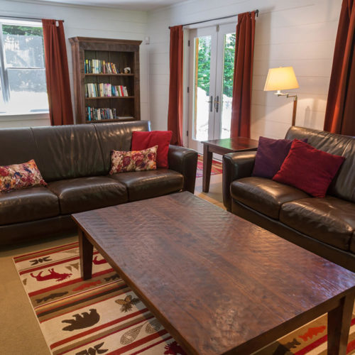 Contemporary - Chalets rentals - Côté Nord Tremblant - Living room 07