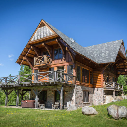 Contemporary - Chalets rentals - Côté Nord Tremblant - Outside 02