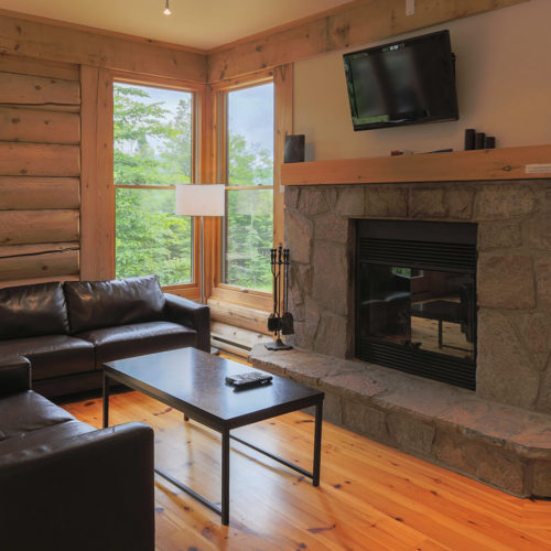 Semi-Detached - Chalets rentals - Côté Nord Tremblant - Living room 05