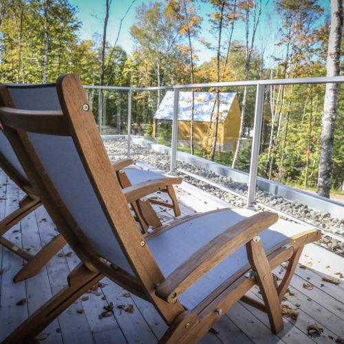 Spahaus - Chalets rentals - Côté Nord Tremblant - Deck 02