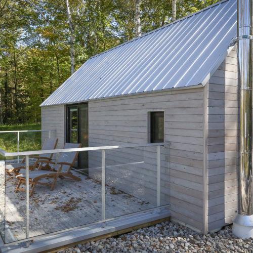 Spahaus - Chalets rentals - Côté Nord Tremblant - Deck 03