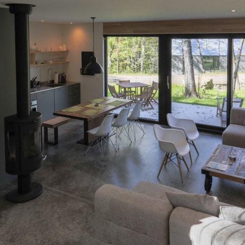 Spahaus - Chalets rentals - Côté Nord Tremblant - Living room
