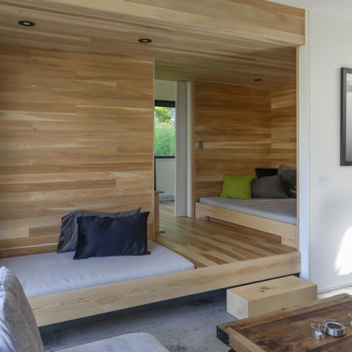 Spahaus - Chalets rentals - Côté Nord Tremblant - Living room 02