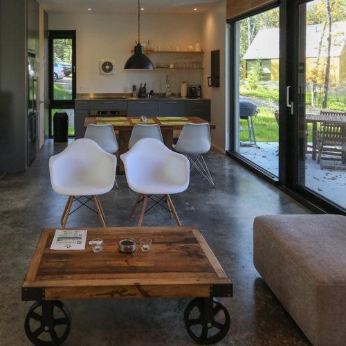 Spahaus - Chalets rentals - Côté Nord Tremblant - Living room 04