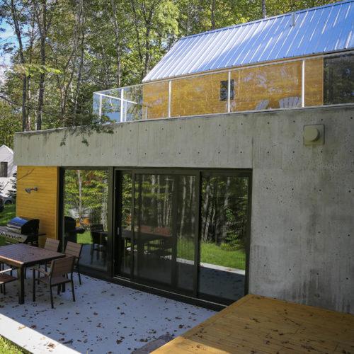 Spahaus - Chalets rentals - Côté Nord Tremblant - Outside deck